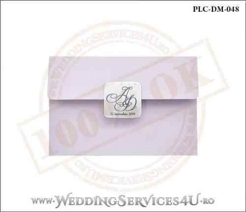 Plic Invitatie Nunta-Botez PLC-DM-048-01