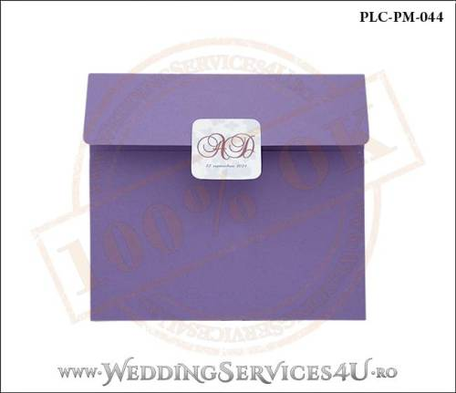 Plic Patrat Invitatie Nunta-Botez PLC-PM-044-01