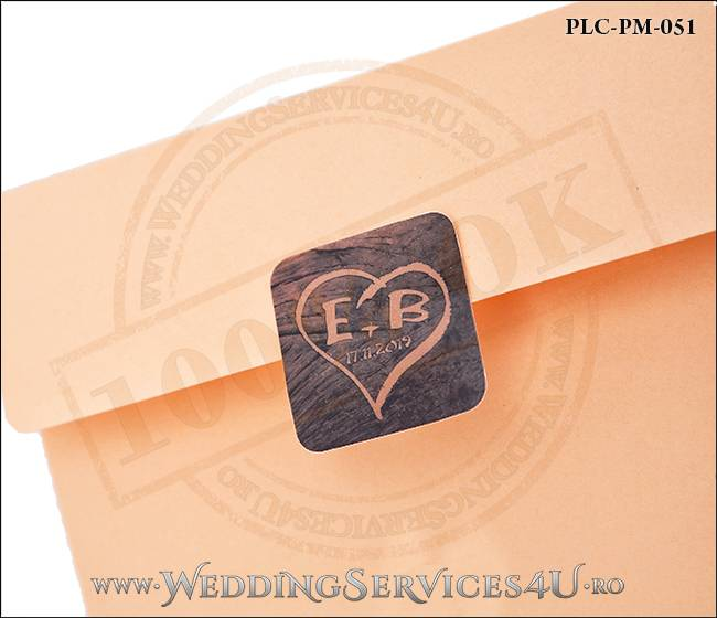 Plic Patrat Invitatie Nunta-Botez PLC-PM-051-02