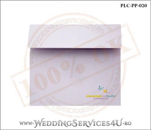 Plic Patrat Invitatie Nunta-Botez PLC-PP-020-01+