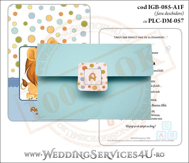 IGB-085-A1F.cu.PLC-DM-057_Invitatie_Botez_cu_pui_de_leu