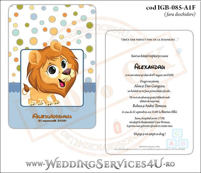 IGB-085-A1F_Invitatie_Botez_cu_pui_de_leu
