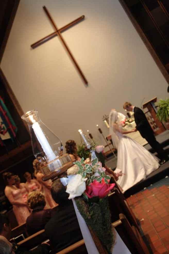 lori & rob's wedding ceremony