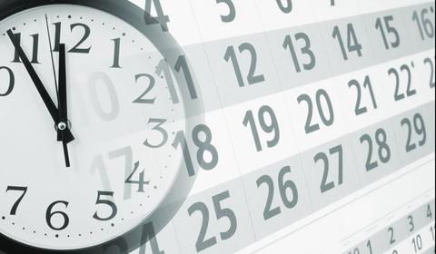 wedding personalization idea - time, clock and calendar