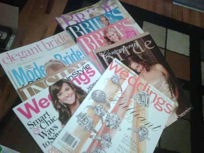 wedding planning magazines