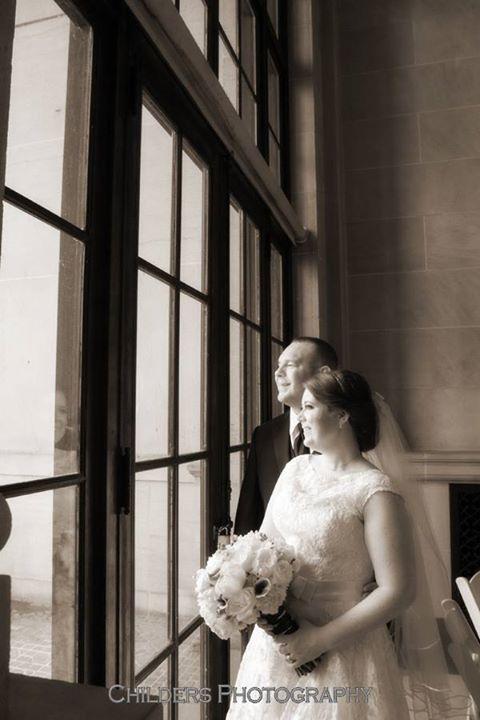 real wedding - katie & nick - childers photography