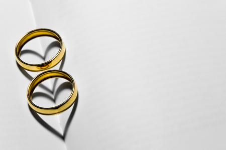 two weding rings