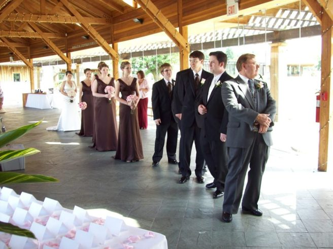 wedding ceremony processional