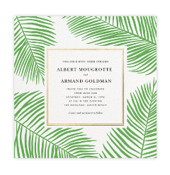 Beautiful Wedding Invitation from Paperless Post