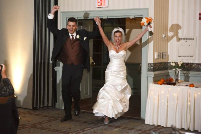 Wedding Planners Love When The Bride & Groom Are Smiling and Enjoying Themselves