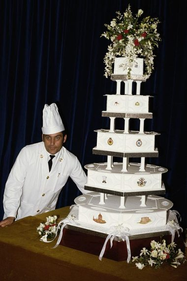 prince charles and lady diana's wedding cake