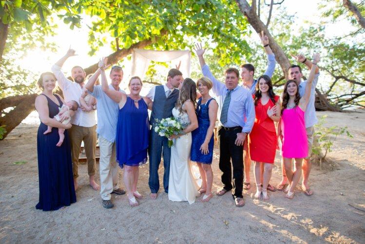 family-photo-tamarindo-beach