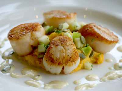 Scallops at Lakeville Weddings