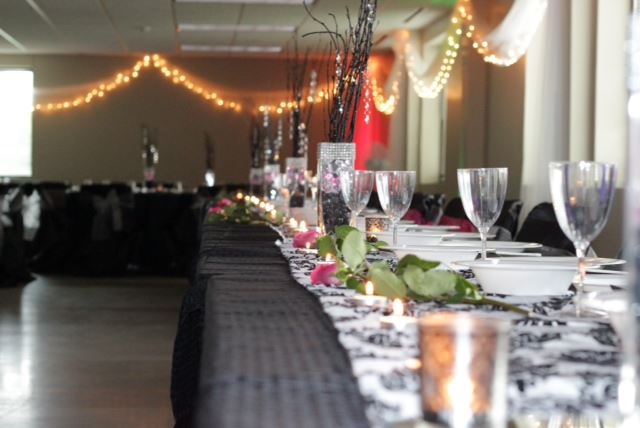 Bridale Table at Lakeville Weddings