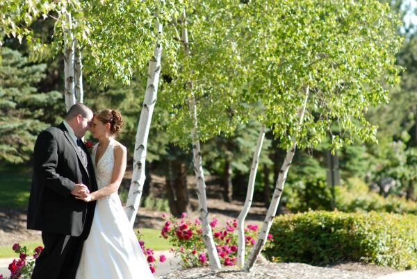 Bride and Groom at Lakeville Weddings