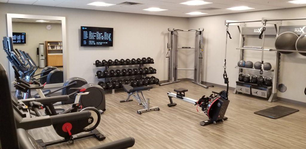 Hampton Inn fitness room