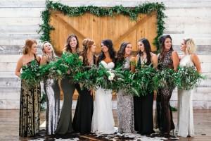 Bridesmaid dresses lubbock wedding