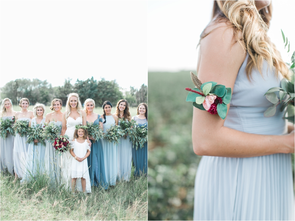 blue hues lubbock wedding details