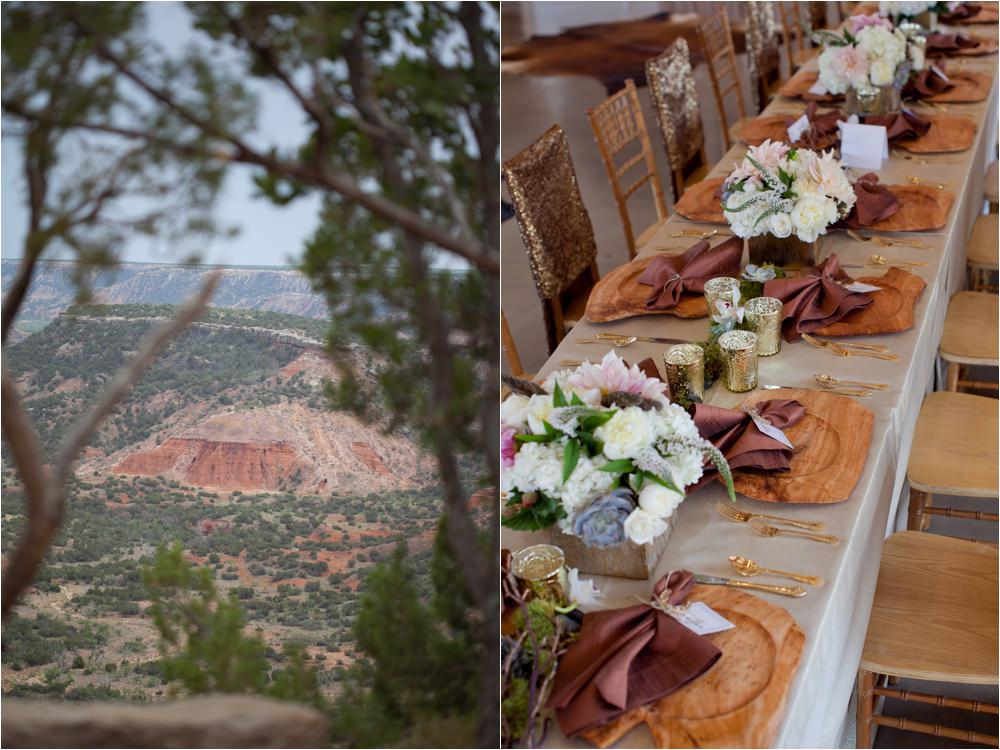 palo duro canyon wedding details of west texas