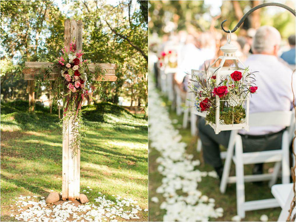 romantic red wedding details weddings of west texas fulford barn
