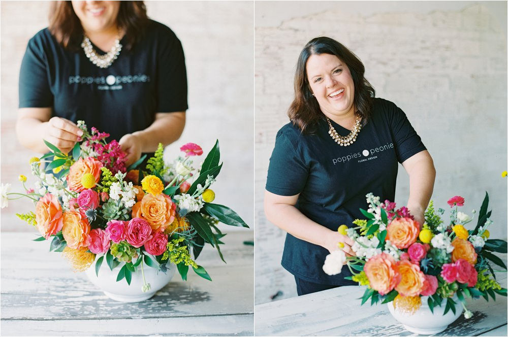 poppies and peonies floral designer in Lubbock Texas