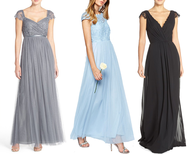 18 Beautiful Bridesmaid Dresses With Lace Details