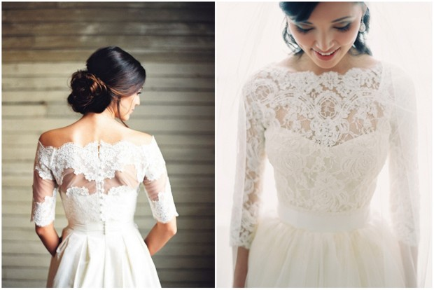 20+ Beautiful Bridal Boleros, Tops, Jackets & Capelets You