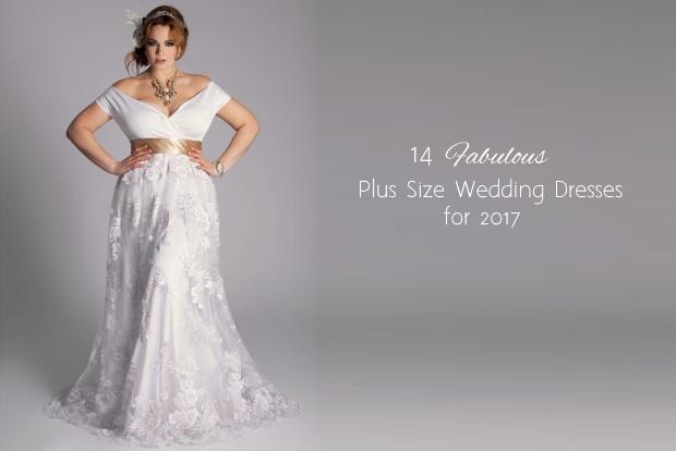 14 Fabulous Plus Size Wedding Dresses For 2017 Brides