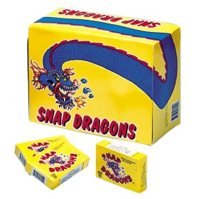 Snap Dragon - Large - Pop Pop Poppers Snappers, Trick Noise Makers 2000 count