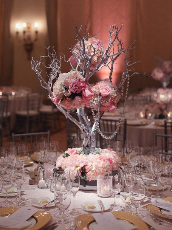 Creative Centerpieces Wedding Receptions