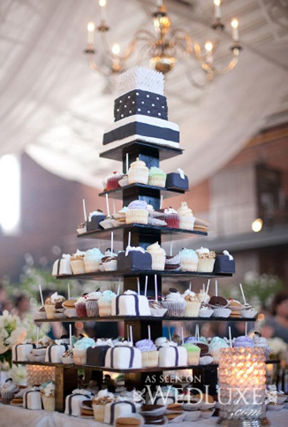 Stylish Wedding Cupcakes Archives Weddings Romantique