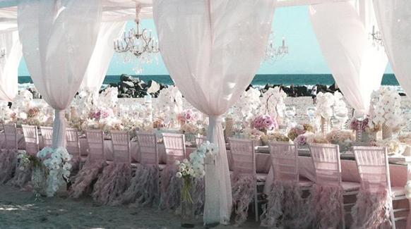 2014 Blush Pink Ballroom Reception Decorations Archives