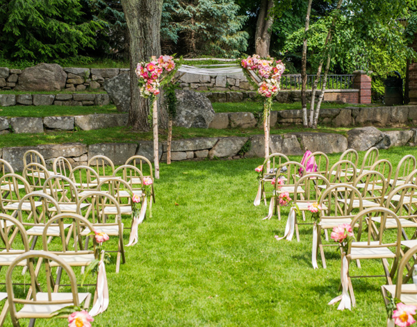 Garden Wedding Ceremony Decorations | Invitationsjdi.org