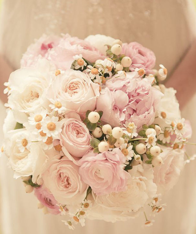 Blush Pink Wedding Bouquet _Photography  Wedding Artists Collective