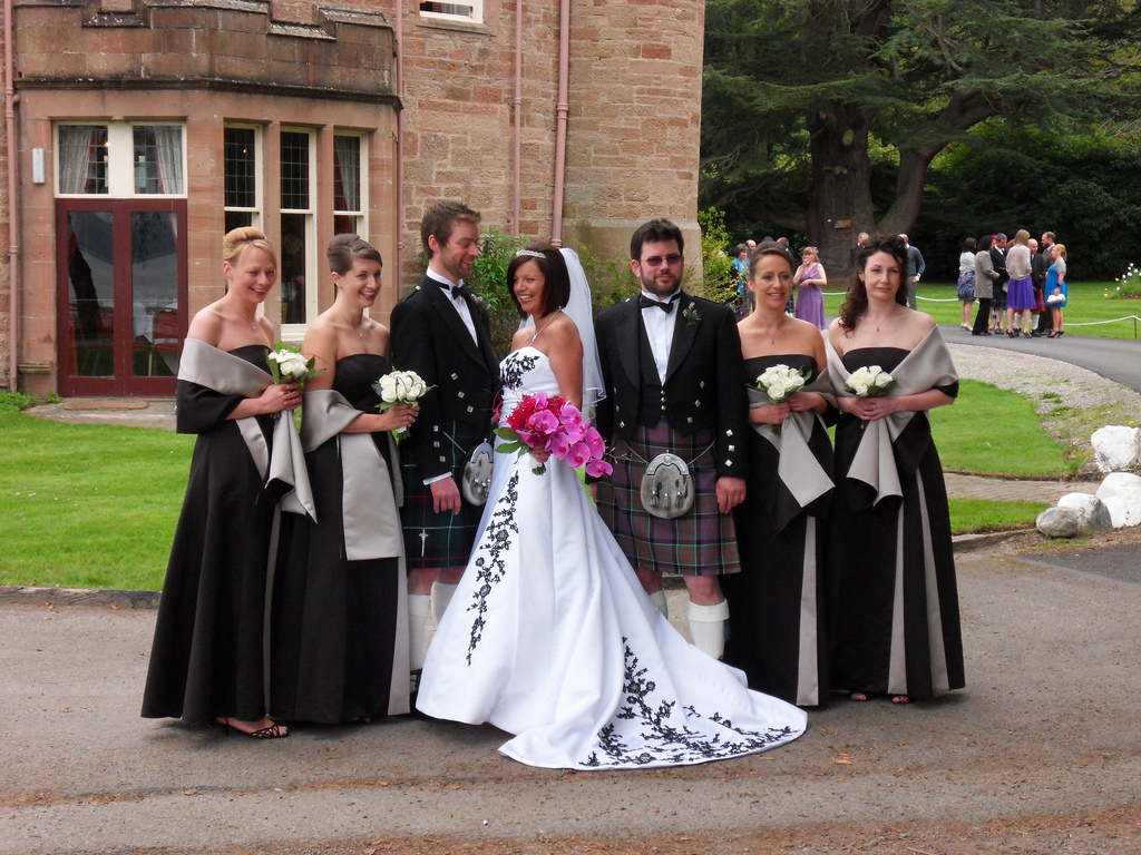 Traditional Scottish Wedding
