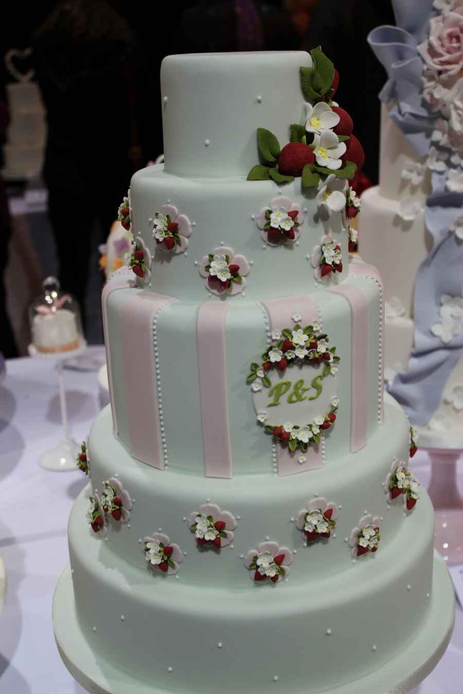 Top Wedding Cake - Painted Cakes