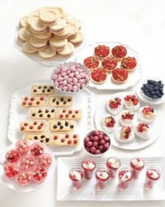 Summer fruit puddings