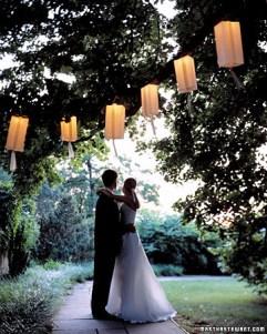 Summer paper lanterns