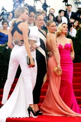 Cara Delevingne, Rihanna, Stella McCartney, Kate Bosworth and Reese Witherspoon - all wearing Stella McCartney.