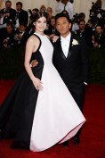Hailee Steinfeld in Prabal Gurung with Prabal Gurung