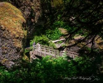 The Bridge leading to the main waterfall
