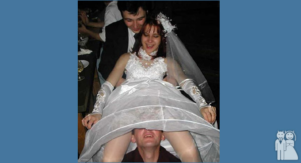 Wedding Unveils - Funny Wedding Photos