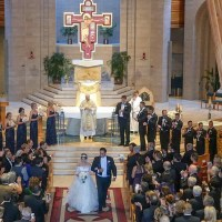 Frank & Elizabeth Fairytale Wedding at Seawell Grand Ballroom