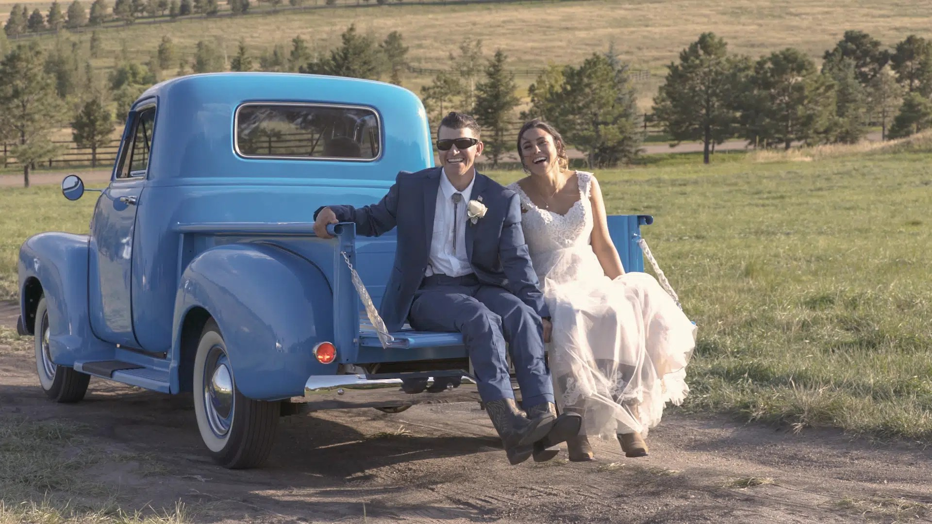 Kari & Kristofer | Wedding Highlights Video  | Spruce Mountain Ranch, Larkspur, CO