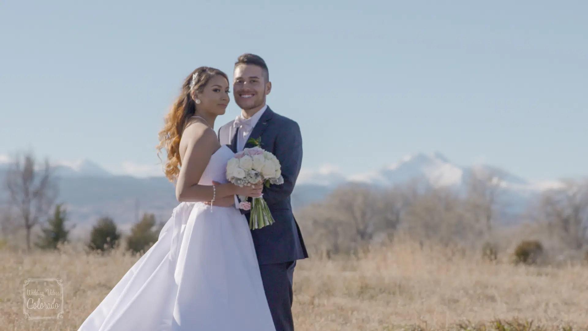 longmont wedding video colorado