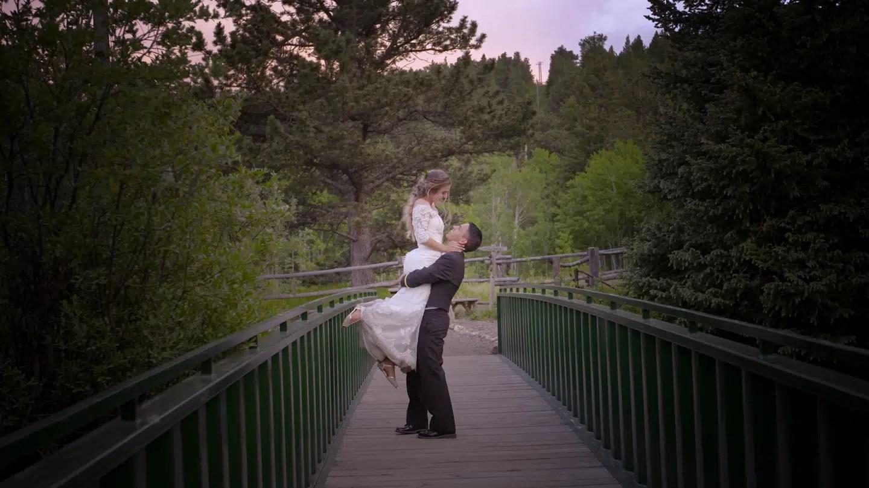 Wild Basin Lodge Allenspark colorado wedding