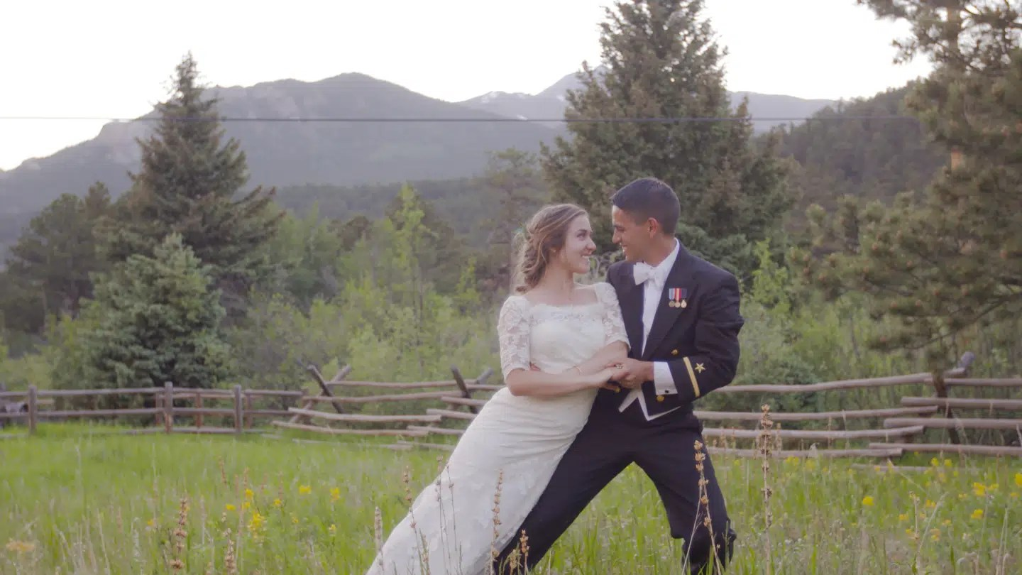Wild Basin Lodge Allenspark colorado wedding