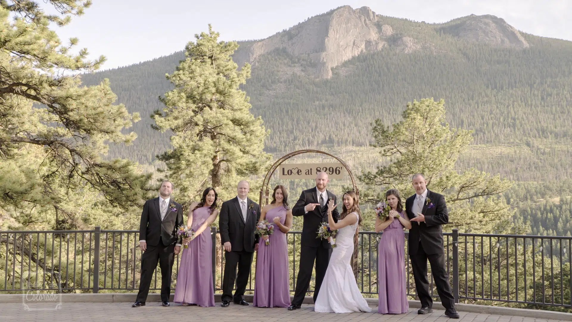 estes park destination wedding video
