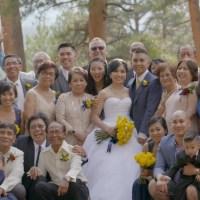 Jason & Trinh Wedding at Della Terra Mountain Chateau, Estes Park
