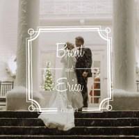 Brent & Erica Winter Wonderland Wedding at The Manor House